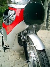 HONDA CB72/77 & CR72/77 Alloy Fairing